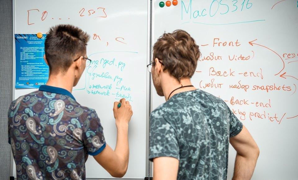 Студенти 2 -го курсу прийняли участь в AI Hackathon в науковому парку Synergy