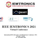 """The International Scientific and Technical Conference """"IEEE IEMTRONICS 2021"""", Toronto, Canada"""